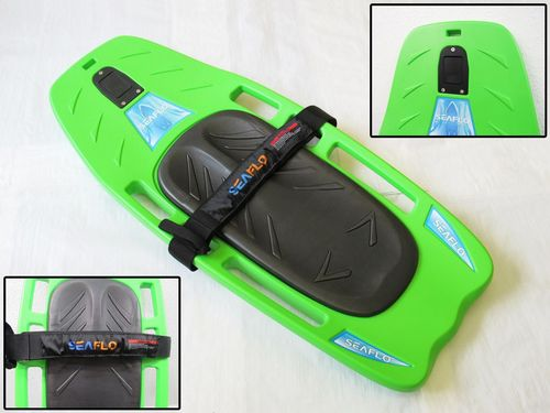 1.2 Metre Green Multi Function Board - Knee Board Water Sport Wake Ski Surf